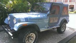 Find Used 1980 Jeep Cj7 Renegade Sport Utility 2