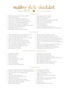 wedding photography checklist 25 best ideas about wedding photography checklist on wedding photo list wedding