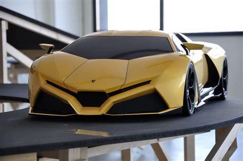 Car Design Concepts :  Lamborghini Cnossus Concept Design