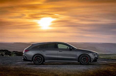 Ik vind deze plaatjes al erg fraai moet ik zeggen! Mercedes-AMG CLA 45 S Shooting Brake 2020 UK review | Autocar