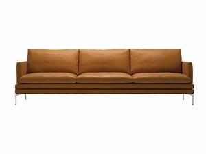 buy the zanotta 1330 william three seater sofa at nestcouk With sofa cuir