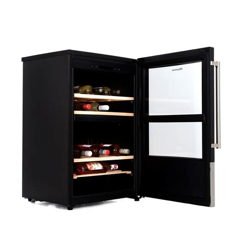 wine cooler cabinets uk hisense sc108dy wine cooler 38 bottle dual zone cabinet in stainless steel ebay