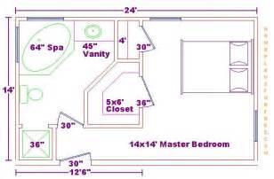master bedroom and bath floor plans foundation dezin decor bathroom plans views