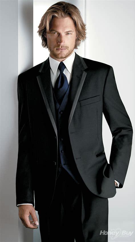 designer mens suits black designer fitted custom made suits three