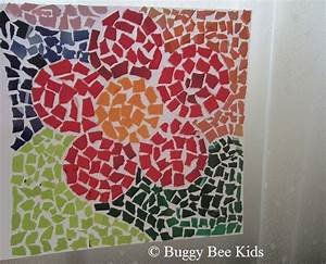 Buggy Bee Kids - Crafts for Kids in Singapore!: Mosaic Flower