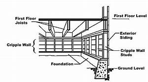 Replace Cripple Wall To Raise Foundation  - Building  U0026 Construction