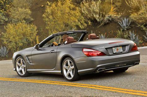 2014 Mercedes Benz Sl550 Side View