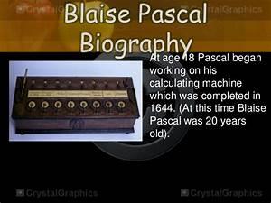 blaise pascal contributions to math