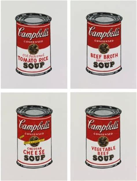 Cbell Tomato Soup Andy Warhol by I Andy Warhol Cbells Soup Can Tomato Rice Ii Andy