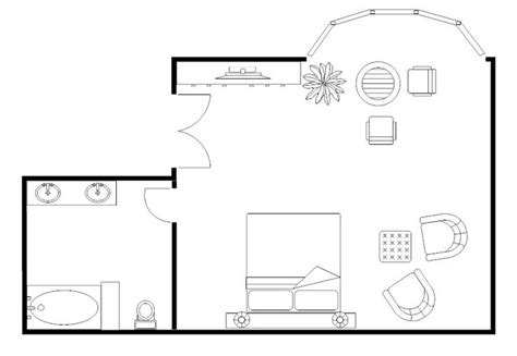 Bedroom Plans  Master Bedroom Floor Plan Example