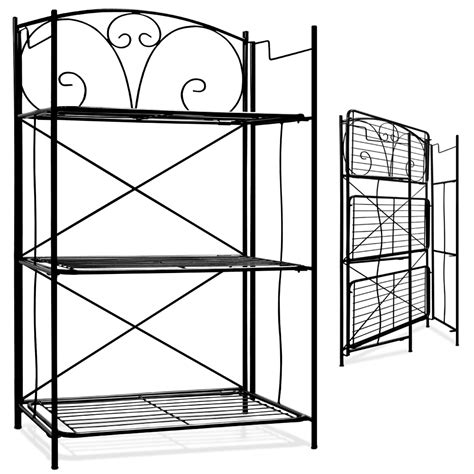 Kitchen Metal Wall Uk by Metal Wall Shelf Free Standing Bookcase Storage Shelving