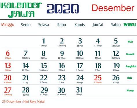kalender jawa  lengkap  tanggalan jawa  islam hijriah wiki pintar