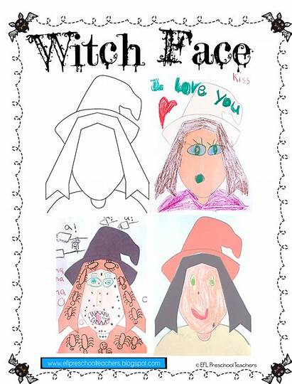 Efl Esl Face Halloween Preschool Teachers Draw