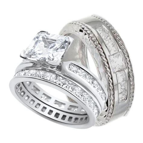his and her wedding rings massvn com