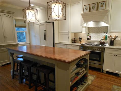 butcher block kitchen island with seating kitchen islands with seating for 4 kitchen traditional 9341