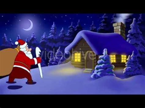 merry christmas animated card youtube