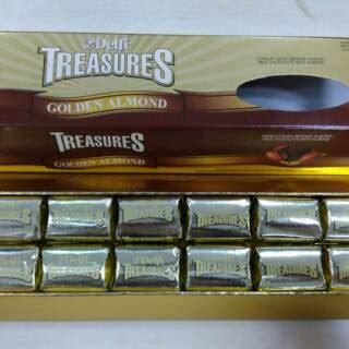 cokelat delfi treasures golden almond gr shopee indonesia