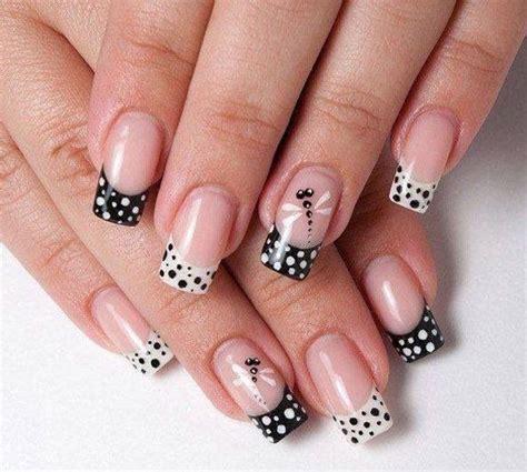 lovely polka dot nail designs   pretty designs