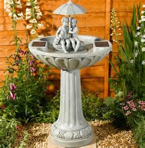 solar umbrella water feature 129 99 garden4less uk shop