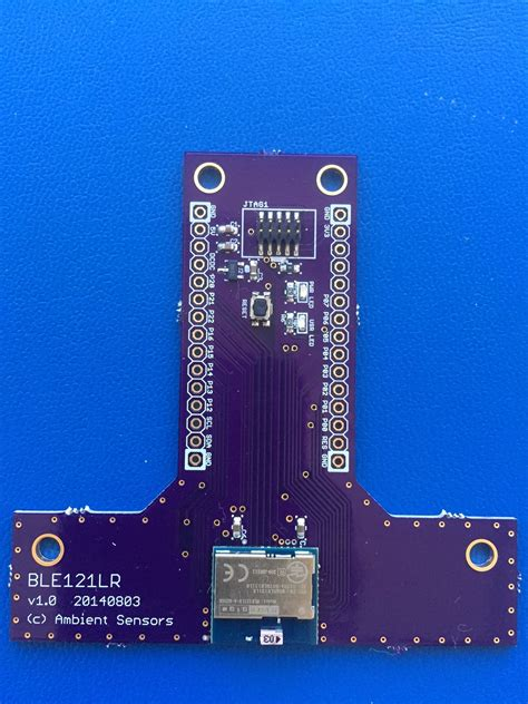 range of bluetooth low energy ble121lr range bluetooth low energy breakout from wa7iut on tindie