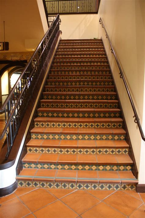 indoors stair raisers mexican home decor gallery mission