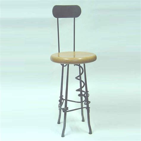 Furniture Unique Bar Stools With Iron Leg For Dining Room