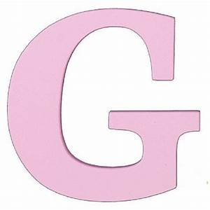 buy large wooden wall letter g pink by sallys store on opensky With large wooden letter g