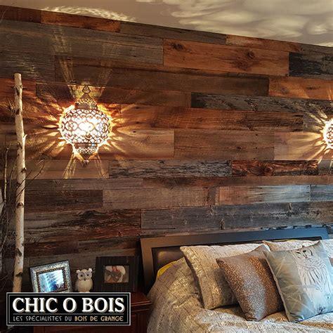 d馗o mur chambre réalisations de mur en bois de grange