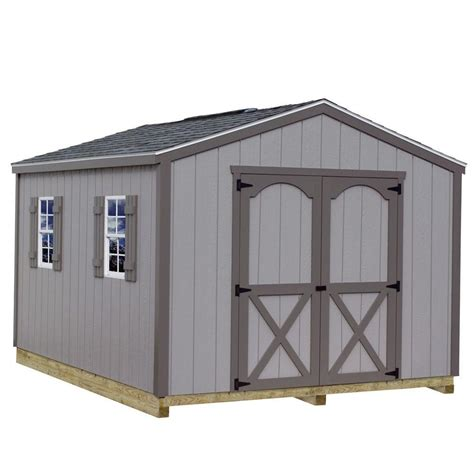 4 x 8 wooden storage shed best barns elm 10 ft x 8 ft wood storage shed kit with
