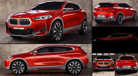 X2 Concept by Bmw X2 Concept 2016 Pictures Information Specs