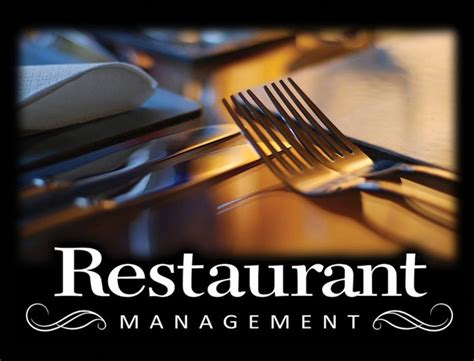 cuisine am駭ager restaurant management edynamic learning