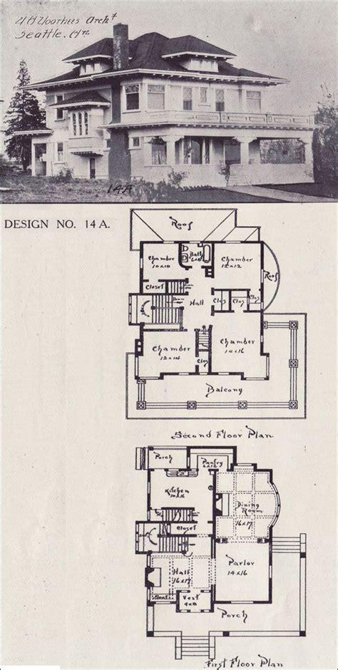 house plan classical revival foursquare western home builder design