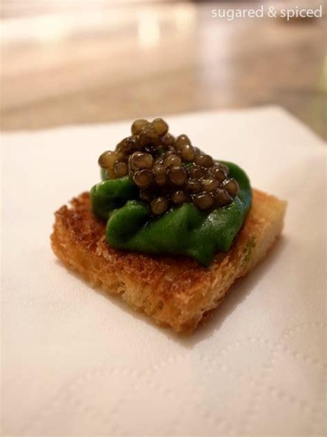 canape mezzo shanghai beluga caviar tasting at 8 otto e mezzo
