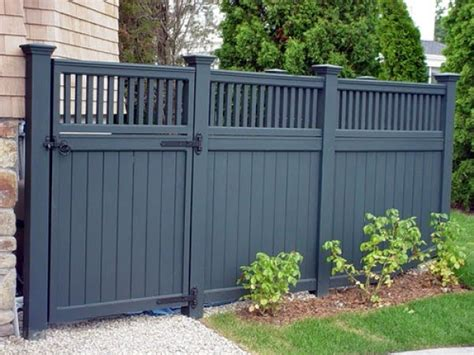 30 fancy wooden fence styles and designs with pictures
