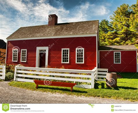 red country house stock photo image  barrel town