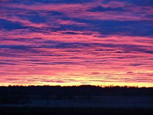Pretty sky ends ugly weekend | Interlake Group