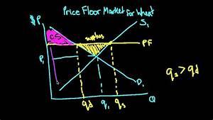 Price Floor  Dwl  Consumer And Producer Surplus