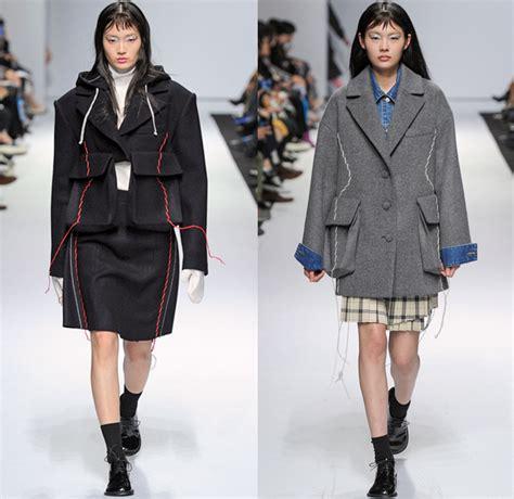 Kiok 2018-2019 Fall Autumn Winter Womens Runway | Denim Jeans Fashion Week Runway Catwalks ...