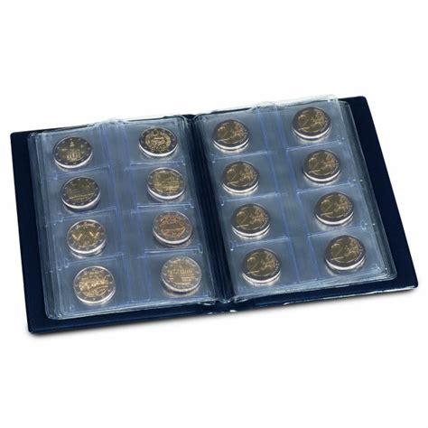 Kabatas albums Eiro monētām Route, tumši zila krāsa