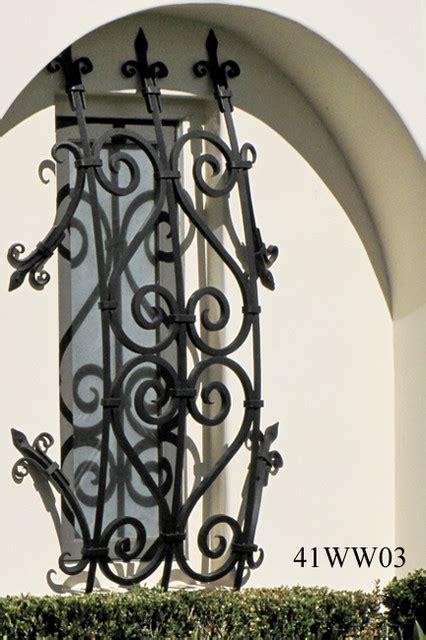 iron window grilles santa barbara  master ironworks