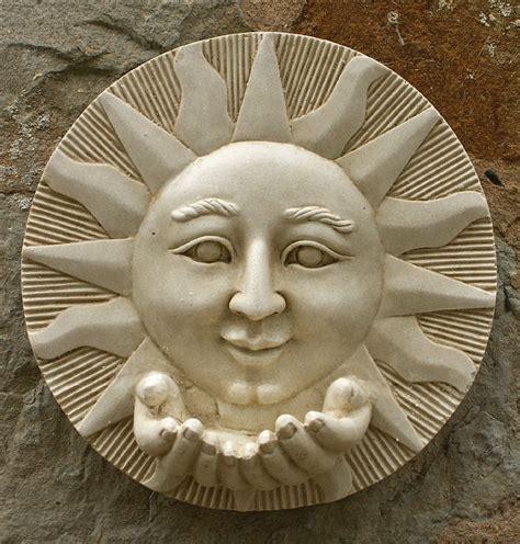 garden wall plaques sun wall plaque with garden wall plaques buy sun