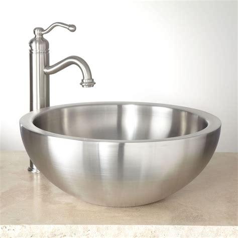 Stainless Steel Bathroom Sinks by 25 Best Ideas About Stainless Steel Bathroom Sinks On