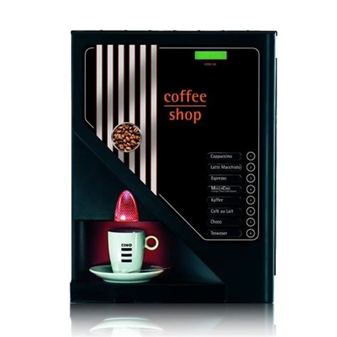 Cino XS   Bean To Cup Coffee Machines