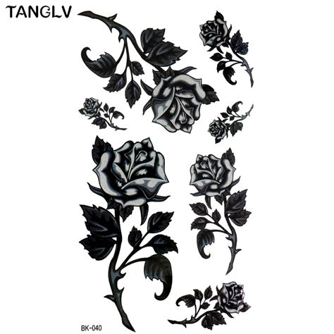 dessin fleur tatouage noir  blanc cochese tattoo