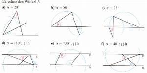 Kreis Winkel Berechnen : zahlreich mathematik hausaufgabenhilfe winkelberechnung ~ Themetempest.com Abrechnung