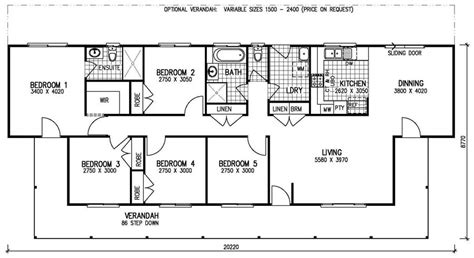 floor plans rectangular house brochure pricing bedroom bestofhouse net 36940