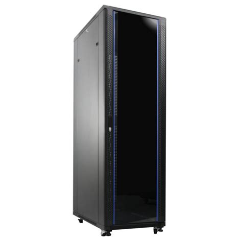 glass door server cabinet ir6020g indorack standing close rack 19 quot 20u depth 600mm