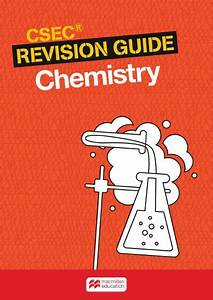 Csec Revision Guide  Chemistry Ebook