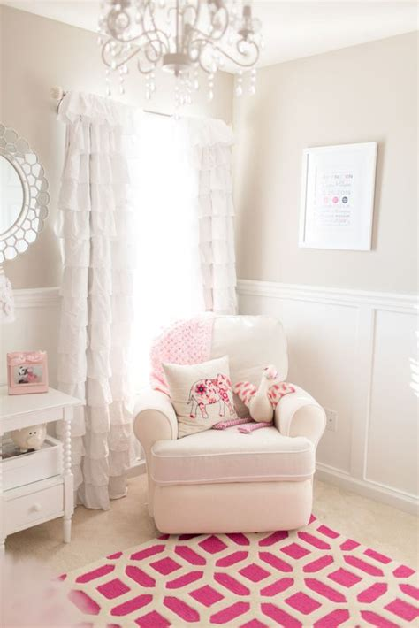 remi s girly nursery pewter pink accents and paint colors