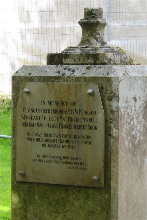 memorials and monuments on the isle of wight chale